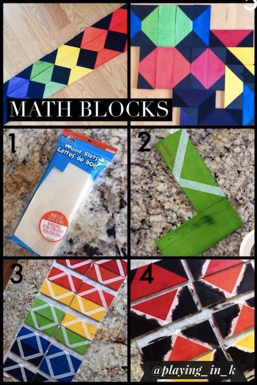 Math blocks how-to photos