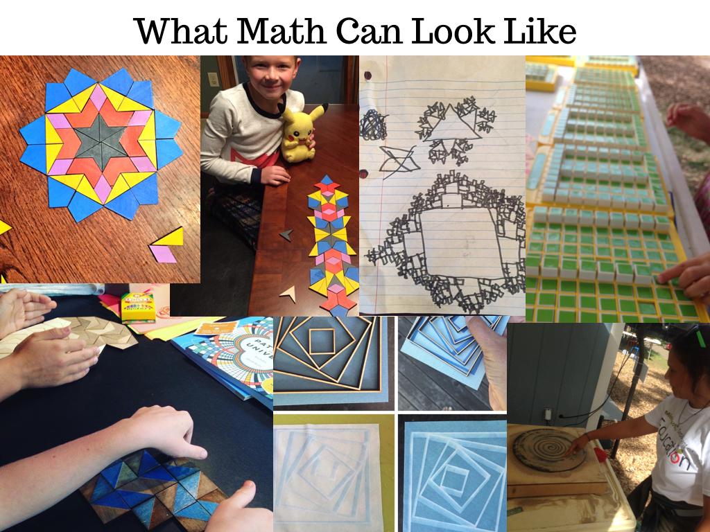 What Math Looks Like