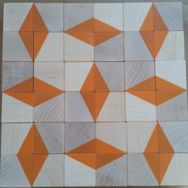 truchet block pattern