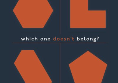 Which One Doesn't Belong? A Better Shapes Book