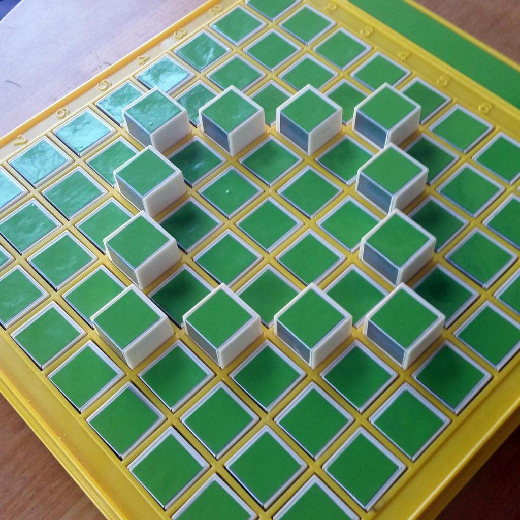 pattern machine closeup with diamond
