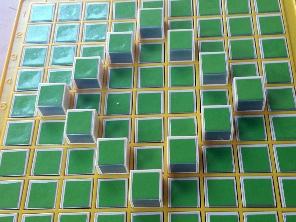 pattern machine with diamond